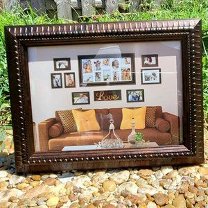 5x7 Brown & Bronze Picture Frames